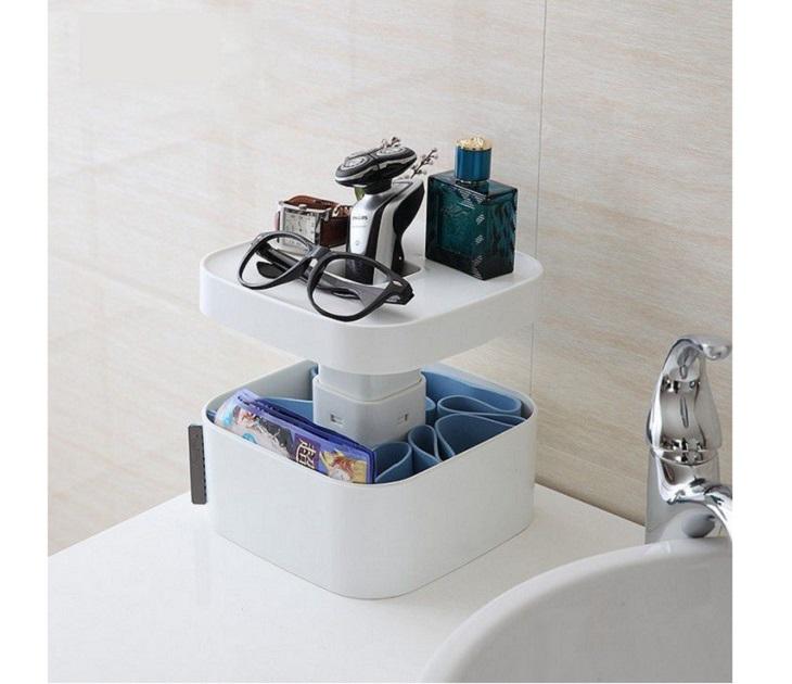 Θήκη Οργάνωσης και Αποθήκευσης για το Μπάνιο ραφιέρες   θήκες μπάνιου