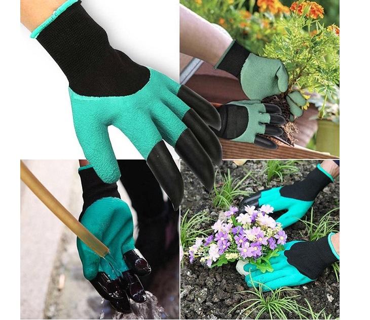 """Γάντια Κηπουρικής με """"Νύχια"""" για Σκάψιμο Garden Genie Gloves"""