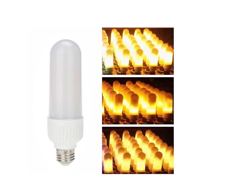 Διακοσμητική Λάμπα LED με Εφέ Φλόγας 6W E27 220V HYD-1 λάμπες led