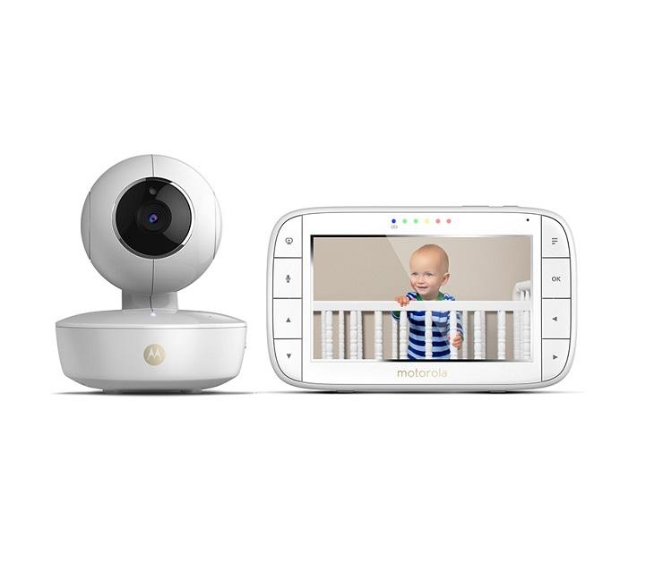 Κάμερα Παρακολούθησης Μωρού Motorola MBP-50 με Έγχρωμη Οθόνη LCD ενδοεπικοινωνία μωρού