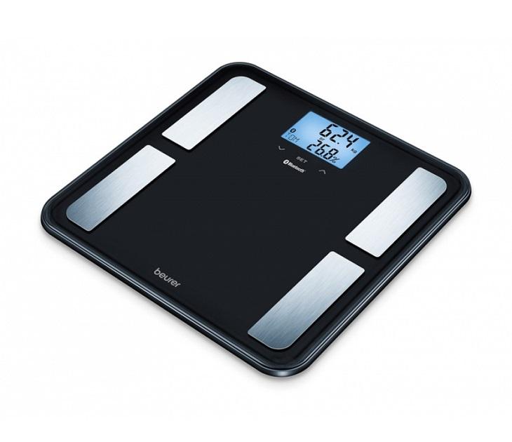 Ψηφιακή Διαγνωστική Ζυγαριά Μπάνιου Beurer BF 850 Black ζυγαριές μπάνιου