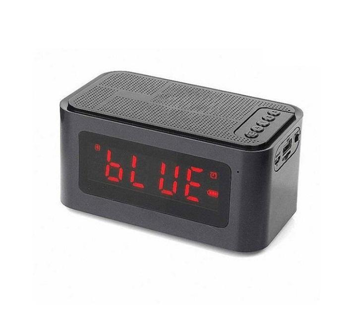 Ασύρματο ηχείο με ξυπνητήρι και λειτουργία Bluetooth