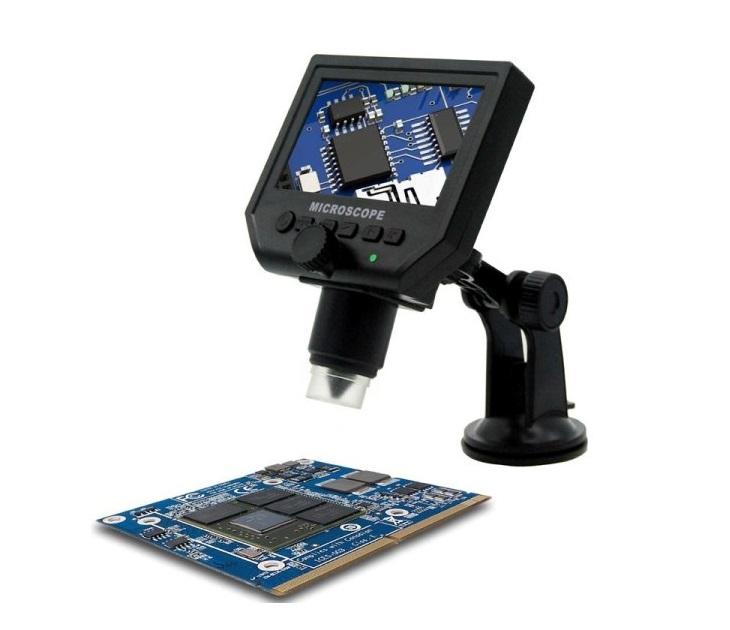 """Ψηφιακό Μικροσκόπιο - LCD Οθόνη 4.3"""" / 3.6MP - G600 gadgets"""