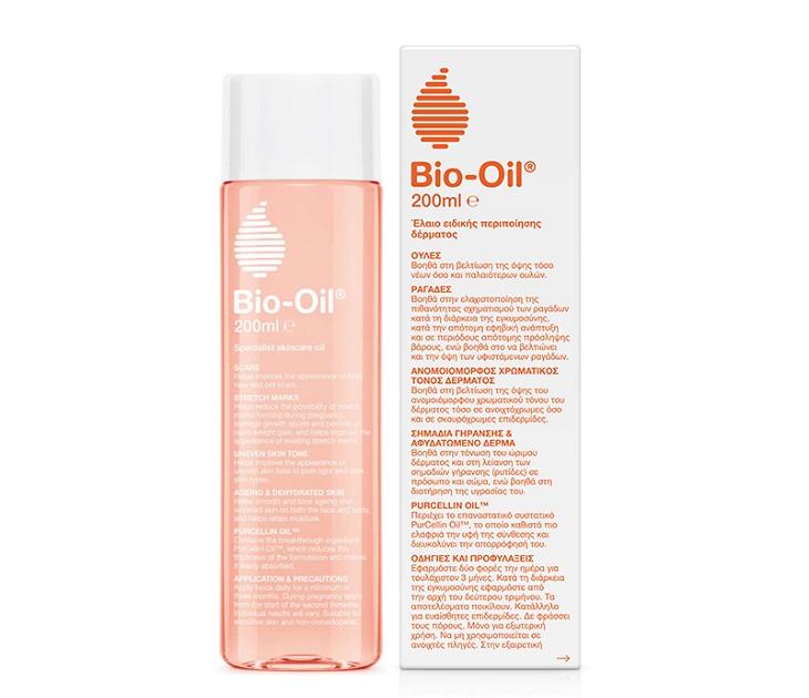 Λάδι Επανόρθωσης Ουλών & Ραγάδων Bio Oil Purcellin 200ml προσωπική περιποίηση