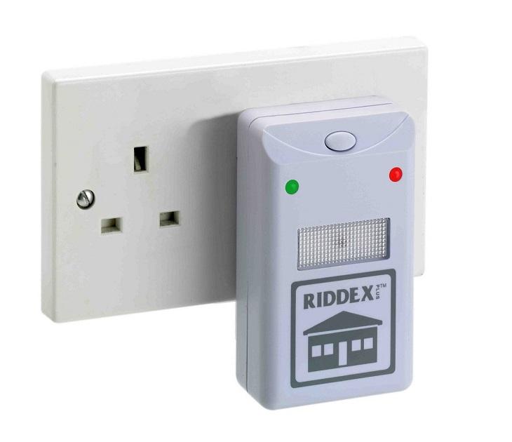 Συσκευή Απώθησης Εντόμων και Τρωκτικών RIDDEX PLUS εντομοαπωθητικά