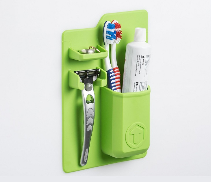 Θήκη Σιλικόνης Οργάνωσης Μπάνιου Mighty Toothbrush Holder