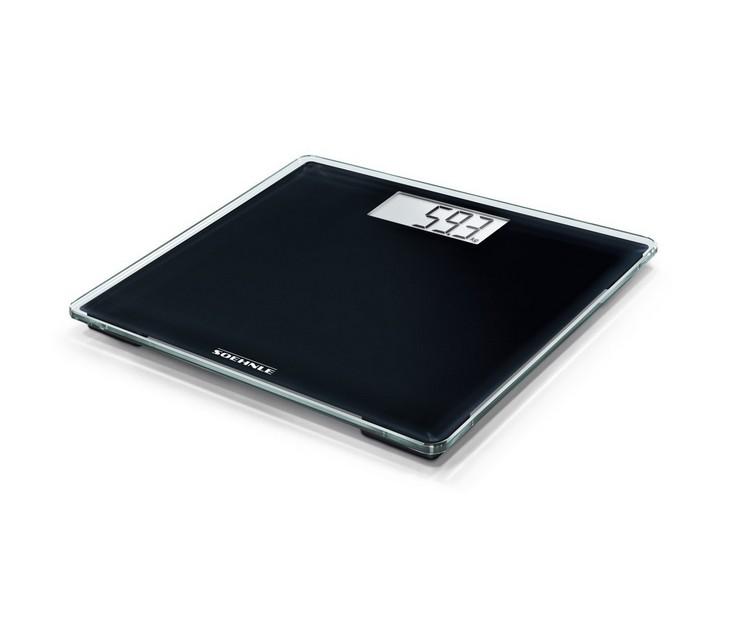 Ζυγαριά Μπάνιου Soehnle 63850 PSD Style Sense Compact 100 Black ζυγαριές μπάνιου