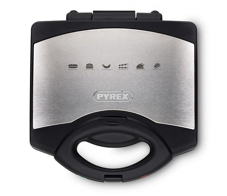 Σαντουιτσιέρα Pyrex SB-260 Inox Ceramic τοστιέρες