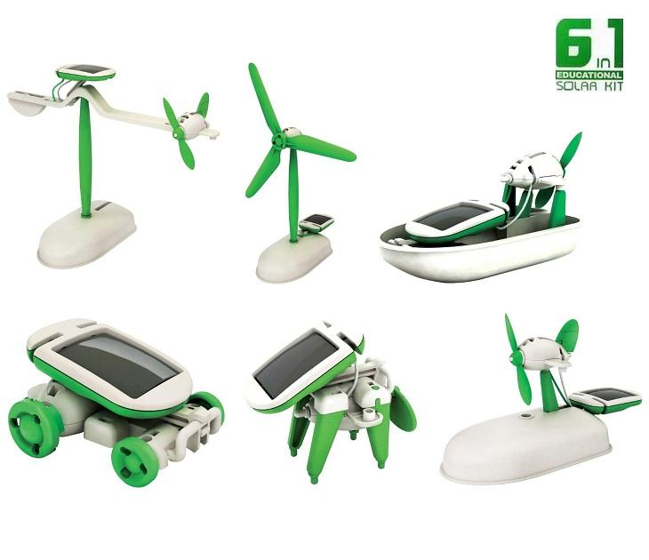 Σετ Παιχνιδιού Ηλιακής Ενέργειας 6 σε 1 OEM gadgets