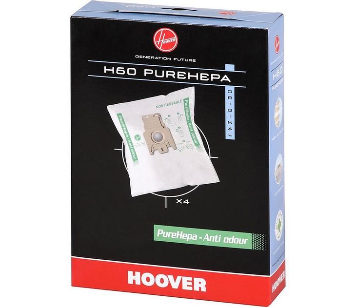 Ανταλλακτικές Σακούλες H60 PureHepa για Σκούπες Hoover σακούλες σκούπας