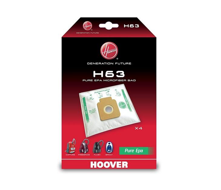 Ανταλλακτικές Σακούλες H63 PureHepa για Σκούπες Hoover σακούλες σκούπας