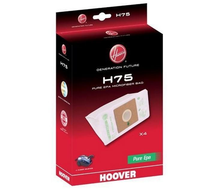 Ανταλλακτικές Σακούλες H75 PureHepa για Σκούπες Hoover σακούλες σκούπας