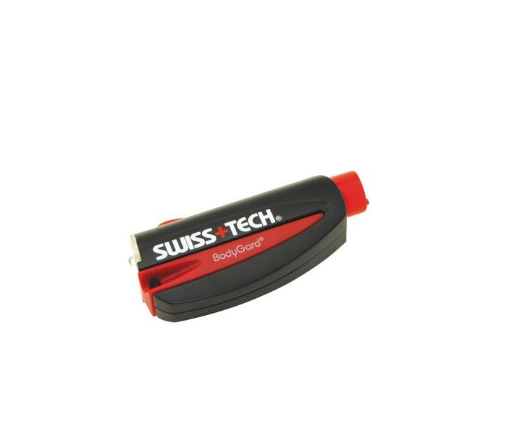 Μπρελόκ Φακός 3 σε 1 Swiss Tech BodyGard PTX 3-in-1 φακοί φωτισμού