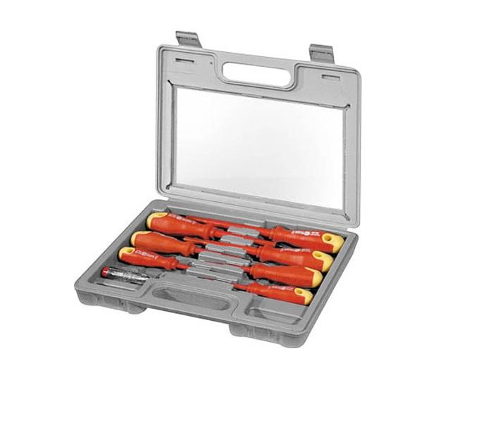 Σετ κατσαβιδιών με μόνωση 77113 Fixpoint εργαλειοθήκες   σετ εργαλεία