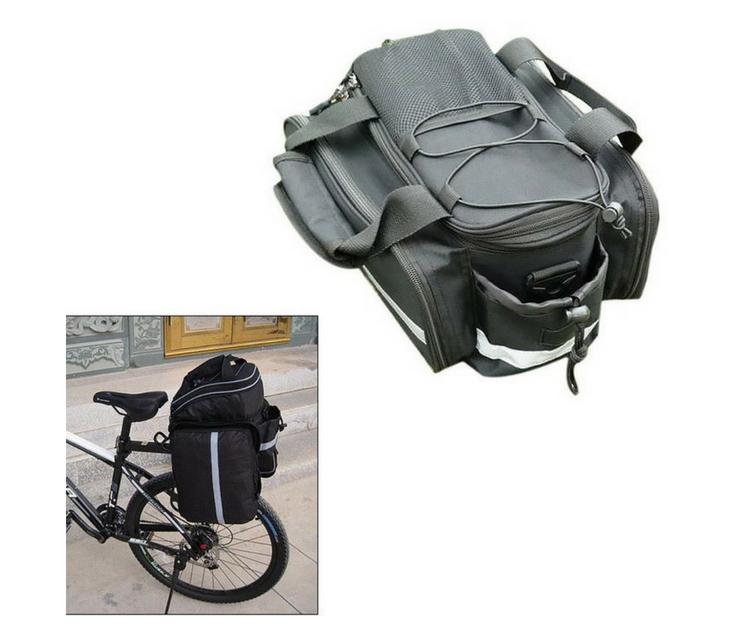 Τσάντα Για Τη Σχάρα Του Ποδηλάτου Με Αδιάβροχη Κουκούλα