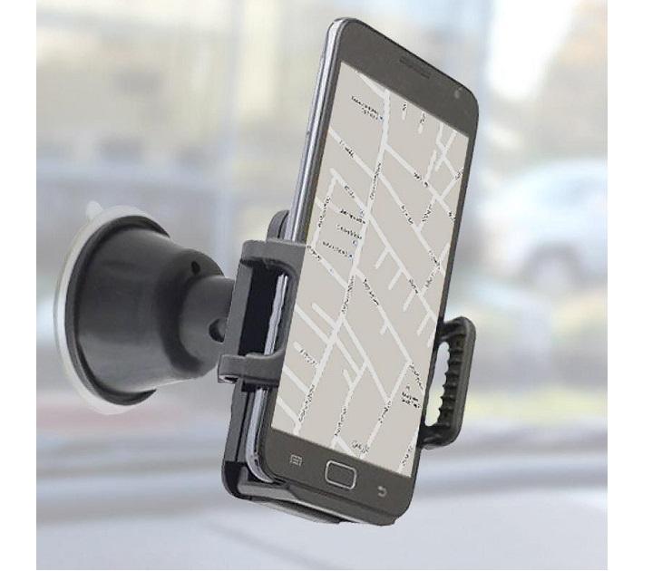 Βάση Στήριξης Κινητών, Κάμερας Και GPS Με Βεντούζα