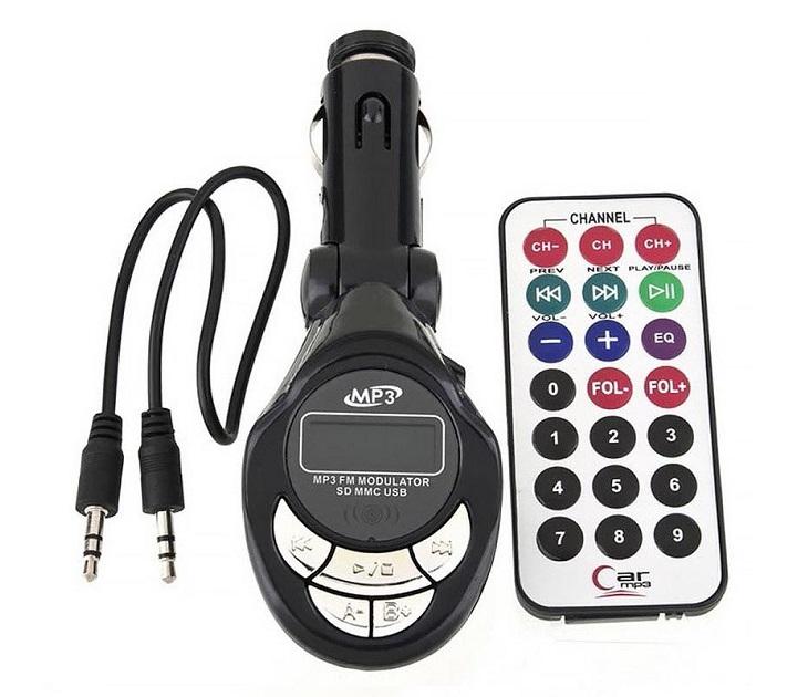 Πομπός Aυτοκινήτου με USB/SD mp3 player - KD200 bluetooth   fm transmitters