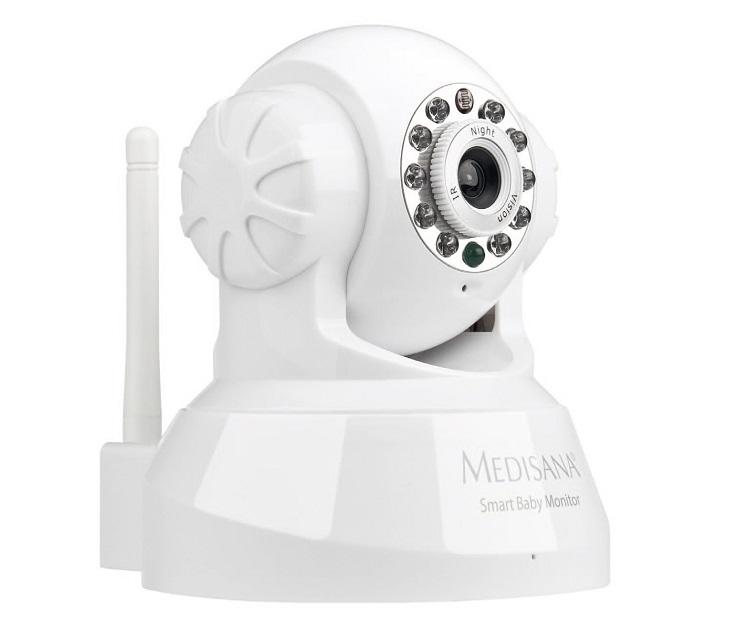 Ασύρματη IP Camera Smart Baby Monitor Medisana συστήματα ασφαλείας