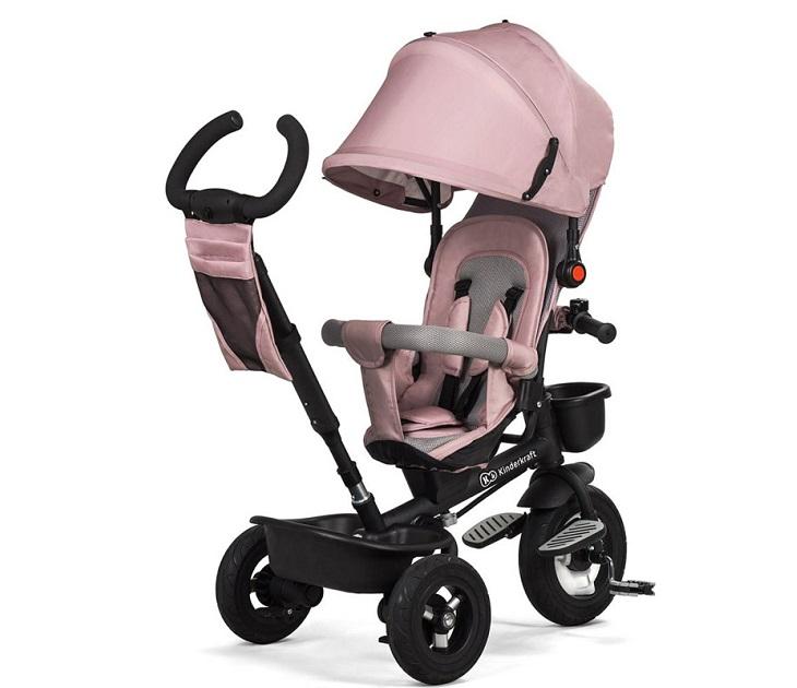 5812ffc6fe5 Τρίκυκλο Παιδικό Ποδήλατο - Καρότσι KinderKraft Aveo Ροζ