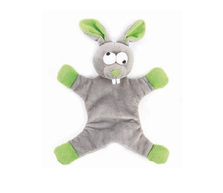 Λούτρινο Παιχνίδι για Σκύλους Happy Pet Freaky Flatliner Rabbit παιχνίδια σκύλου