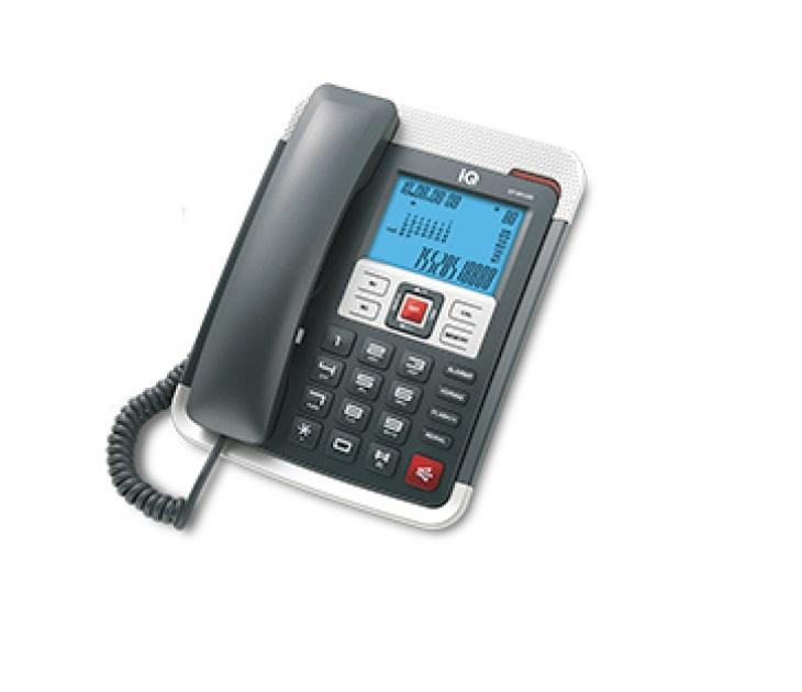 Ενσύρματο Τηλέφωνο Με Αναγνώριση Κλήσης IQ DT-891CID (Λευκό)