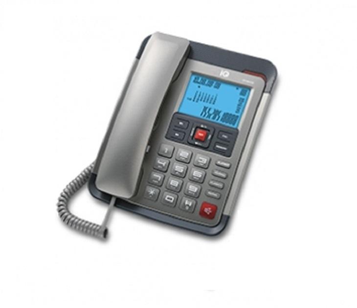 Ενσύρματο Τηλέφωνο Με Αναγνώριση Κλήσης IQ DT-891CID (Μαύρο)
