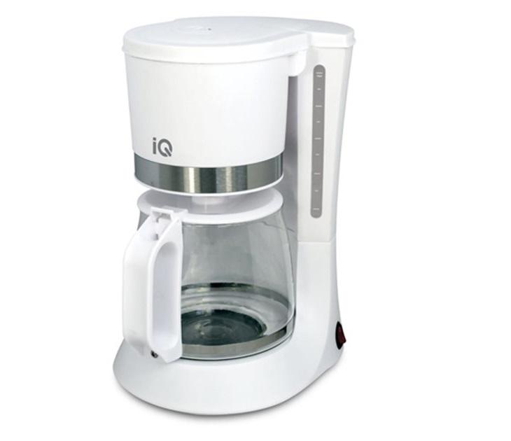 Καφετιέρα Φίλτρου IQ CM-160 (Λευκή) καφετιέρες φίλτρου