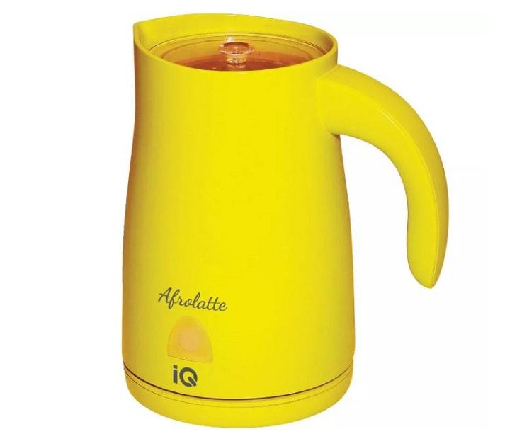 Συσκευή για Αφρόγαλα IQ EK-255 500W Κίτρινη συσκευές για αφρόγαλα