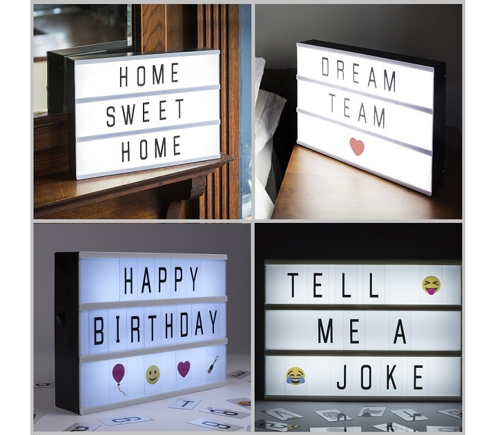 Διακοσμητικός LED Πίνακας Μηνυμάτων Επιτραπέζιος/Τοίχου