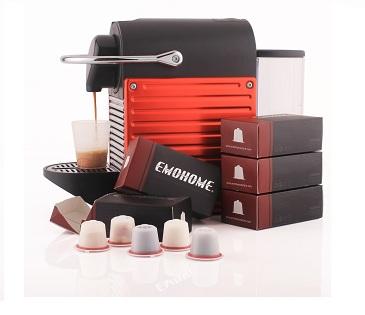 Σετ 5 Επαναγεμιζόμενες Κάψουλες Συμβατές Με Μηχανές Nespresso