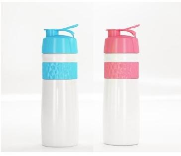 Σετ 2 Παιδικά Παγούρια Νερού - Γαλάζιο & Ροζ Ordinett σκεύη μαγειρικής