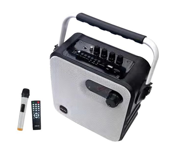Ηχείο Bluetooth με Ενισχυτή Ραδιόφωνο & Μικρόφωνο AKAI ABTS-T5