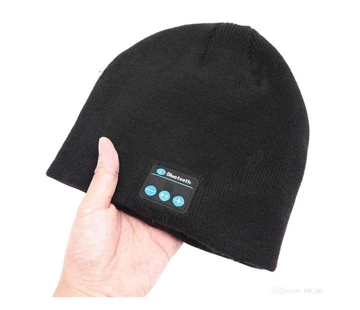 Σκούφος με Bluetooth Ενσωματωμένα Ακουστικά & Μικρόφωνο audio   video gadgets
