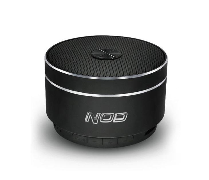 Φορητό Bluetooth Hχείο Aλουμινίου Ραδιόφωνο NOD ROUND-SOUND (5W)