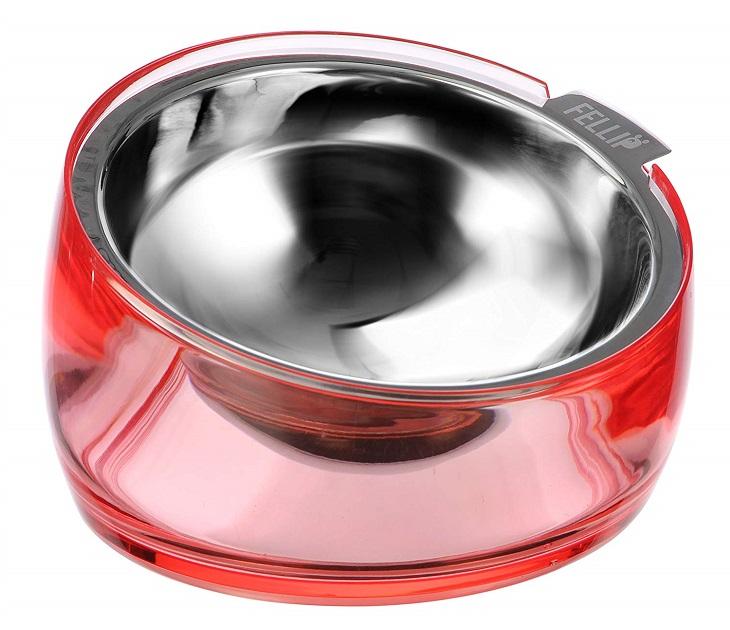 Μπολ Φαγητού Superb Oblik Medium (Kόκκινο) ταϊστρες   ποτίστρες γάτας