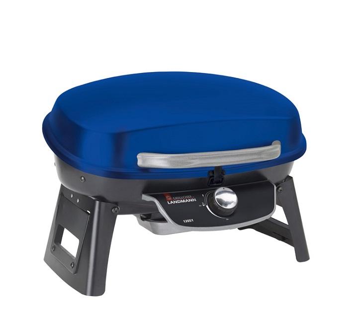 Επιτραπέζια Ψησταριά Υγραερίου Grill Chef GC 12051 (Μπλε) μπάρμπεκιου   bbq