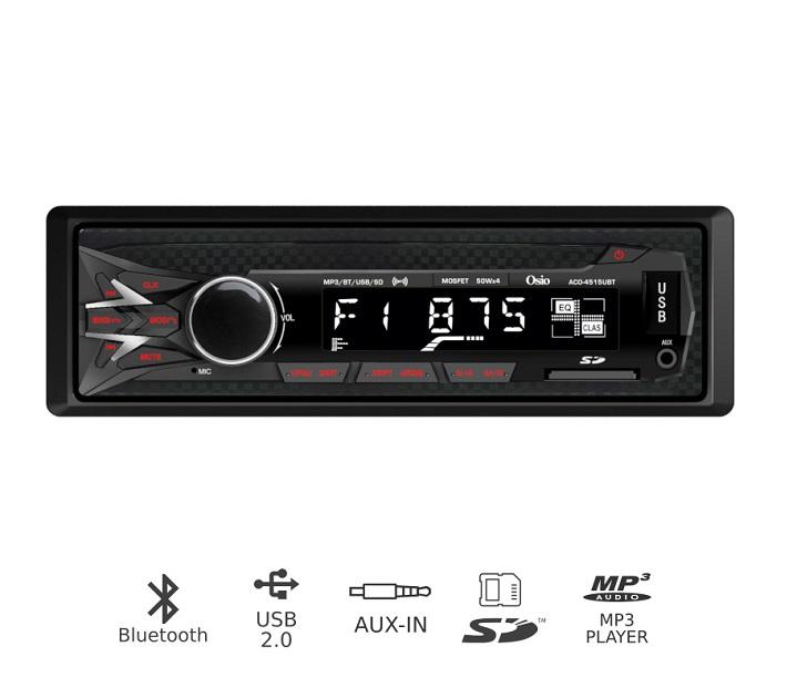 Ράδιο Αυτοκινήτου με Bluetooth, USB, SD OSIO ACO-4515UBT ηχοσυστήματα αυτοκινήτου