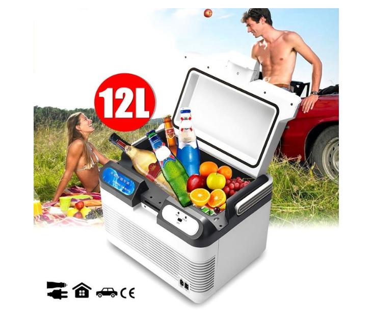 Ηλεκτρικό Φορητό Ψυγείο Ψύξης/ Θέρμανσης 12V / 220V (12L) φορητά ψυγεία