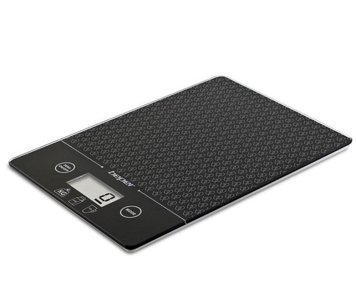 Ηλεκτρονική Ζυγαριά Κουζίνας BEPER 90.123N έως 5kg Μαύρη ζυγαριές κουζίνας