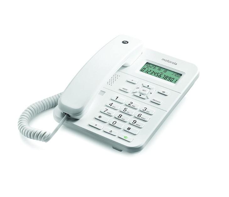 Ενσύρματο Σταθερό Τηλέφωνο με Ανοιχτή Ακροάση MOTOROLA CT202