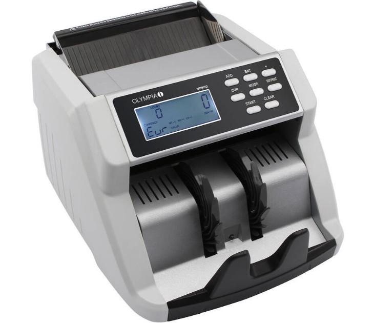 Μετρητής & Ελεγκτής Γνησιότητας Χαρτονομισμάτων Olympia NC-560 ανιχνευτές   καταμετρητες χαρτονομισμάτων