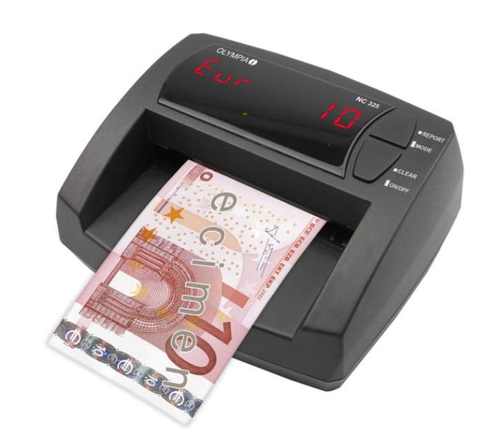 Μετρητής & Ελεγκτής Γνησιότητας Χαρτονομισμάτων OLYMPIA NC 325 ανιχνευτές   καταμετρητες χαρτονομισμάτων