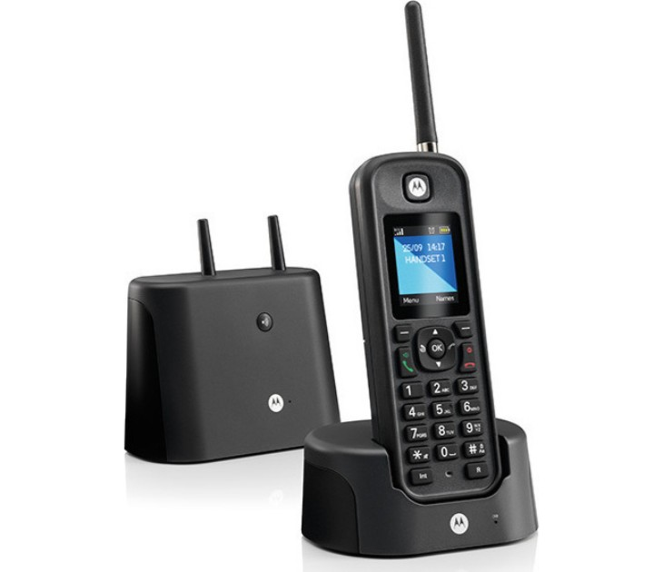 Ασύρματο Τηλέφωνο Αδιάβροχο Μεγάλης Εμβέλειας Motorola O-201