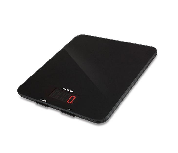 Ηλεκτρονική Ζυγαριά Κουζίνας Salter (10Kg) Μαύρη ζυγαριές κουζίνας