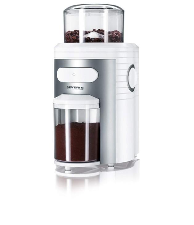 Ρυθμιζόμενος Μύλος Άλεσης Καφέ Severin (150W) - Λευκός μύλοι καφέ
