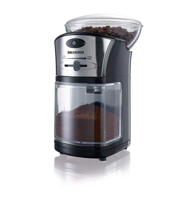Μύλος Άλεσης Καφέ Severin (100W) - Μαύρος μύλοι καφέ