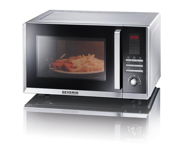 Φούρνος Μικροκυμάτων Severin με Grill & Ζεστό Αέρα (23Lt) MW 7867