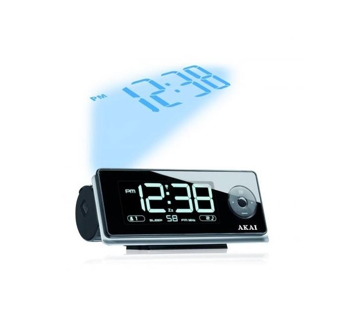 Ψηφιακό Ρολόι - Ραδιόφωνο με Προτζέκτορα Ώρας AKAI AR270P ήχος   εικόνα