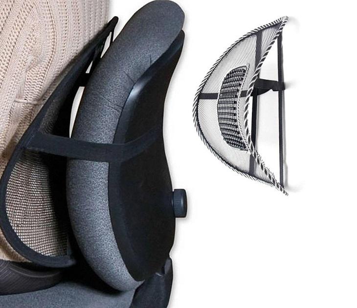 Σετ με 2 Στηρίγματα Πλάτης για το Γραφείο και το Αυτοκίνητο ΟΕΜ car gadgets