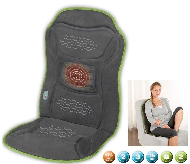 Θερμαινόμενο Κάθισμα Μασάζ Με Δόνηση - Ecomed MC 85E